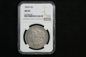 Click now to see the BUY IT NOW Price! 1893 S MORGAN DOLLAR NGC AU 55