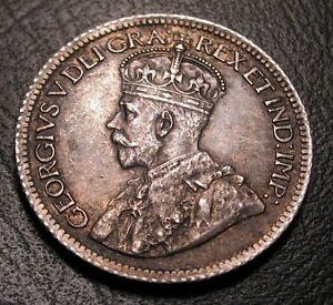 OLD CANADIAN COINS  CHOICE 1916 CANADA TEN CENTS  US AND CA