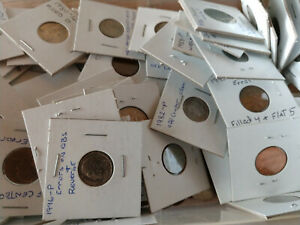 LOT  20 UNITED STATES CARDED COINS 1900   PRESENT  MOSTLY ERROR COINS