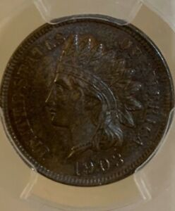 PCGS 1903 MS65 BN INDIAN CENT