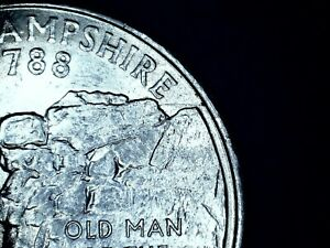 US QUARTER ERROR 2000 P NEW HAMPSHIRE   677