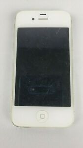 IPHONE 4S APPLE UNLOCKED CELL PHONE WHITE 32GB WITH USB CORD