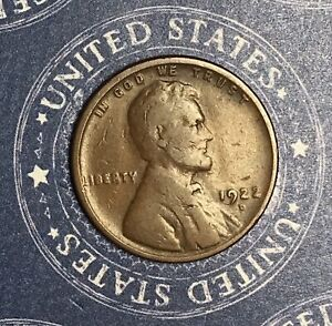 1922 D LINCOLN WHEAT CENT. COLLECTOR COIN FOR YOUR COLLECTION OR SET