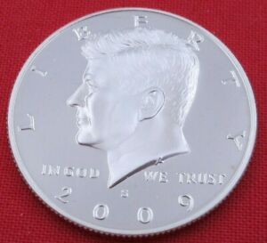 2009 S GEM PROOF DEEP CAMEO KENNEDY HALF FROM PROOF SET   UNC   CLAD  10859