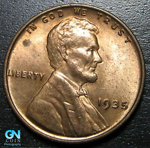 1935 P LINCOLN CENT WHEAT PENNY      MAKE US AN OFFER   B1840