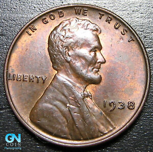 1938 P LINCOLN CENT WHEAT PENNY      MAKE US AN OFFER   B1859