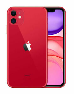 APPLE IPHONE 11  PRODUCT RED   256GB  UNLOCKED  A2111  CDMA   GSM