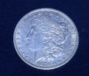 1879 O MORGAN SILVER DOLLAR<>ALMOST 142 YEARS OLD<><>LAST ONE