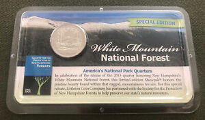 LITTLETON COIN COMPANY 2013 ATB WHITE MOUNTAIN NATIONAL FOREST QUARTER SHOWPAK