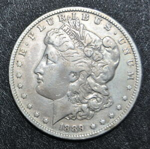 1889 O MORGAN SILVER DOLLAR AN HONEST UNGRADED COIN WITH FREE U.S. SHIPPING