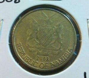 2008  NAMIBIA 1 DOLLAR  COIN   KM4       LOT7522      COMBINED SHIPPING