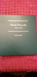 Click now to see the BUY IT NOW Price! COMPLETE PEACE DOLLAR BOOK FROM 1921 TO 1935