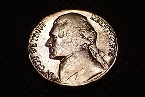 1958 JEFFERSON NICKEL   HIGH END PLATINUM GROUP METALS COATED COIN