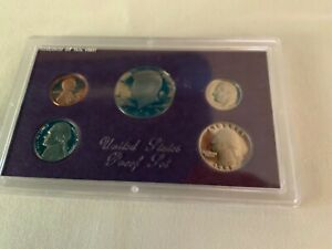 1991 UNITED STATES PROOF SET SAN FRANCISCO PROOF SET