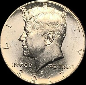1 2017 D KENNEDY HALF DOLLAR UNCIRCULATED CONDITION PRICED TO SELL