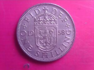 GREAT BRITAIN ONE SHILLINGS 1958  SEP04