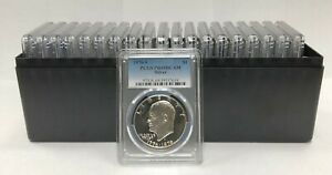 Click now to see the BUY IT NOW Price! 20   1976 S EISENHOWER IKE SILVER DOLLAR PCGS PR69DCAM 20 COIN SET
