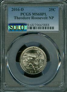 Click now to see the BUY IT NOW Price! 2016 D THEODORE ROOSEVELT PCGS MS68 PL MAC SOLO FINEST & MAC SPOTLESS .