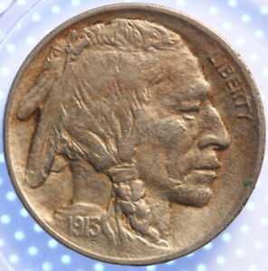 1913 P TYPE 1 BUFFALO NICKEL CHOICE AU TOUGH DATE ORIGINAL PROBLEM FREE