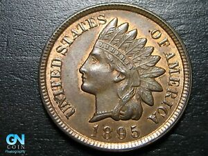 1895 INDIAN HEAD CENT PENNY      MAKE US AN OFFER   B5501