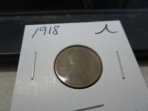 1918   AMERICAN LINCOLN PENNY   USA ONE CENT