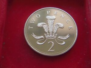 2000 MILLENIUM PROOF TWO PENCE FROM A PROOF SET OF COINS  [QE162]