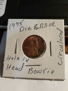 1995 LINCOLN PENNY WITH ERROR'S