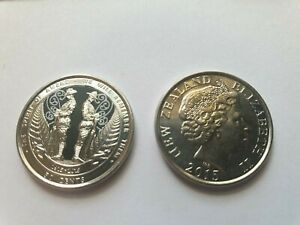 NEW ZEALAND 50CENT 2015 ANZAC COIN