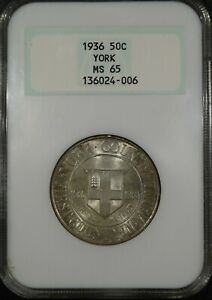 1936 YORK MAINE COMMEMORATIVE HALF DOLLAR