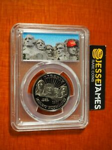Click now to see the BUY IT NOW Price! 1991 S 50C PROOF MOUNT RUSHMORE HALF DOLLAR PCGS PR70 DONALD TRUMP MAGA LABEL