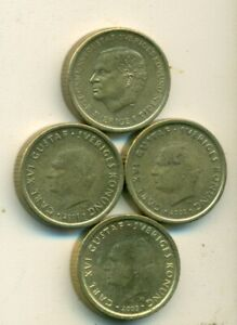 4 DIFFERENT 10 KRONA COINS FROM SWEDEN  2000 2001 2002 & 2003