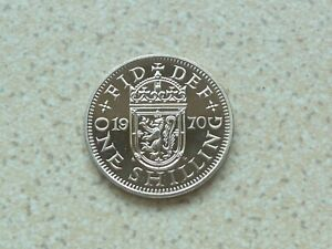 1970 SCOTTISH ONE SHILLING PROOF COIN