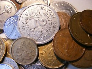 50 PLUS LOT OF WORLD FOREIGN COINS 3