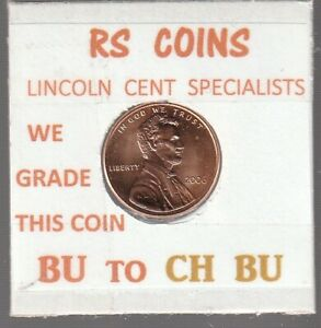 2006  LINCOLN  CENT     UNCIRCULATED     NICE  HAND PICKED CENT  FROM RS COINS