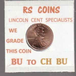 2001D   2002D  LINCOLN CENTS  UNCIRCULATED  NICE HAND PICKED CENTS FROM RS COINS