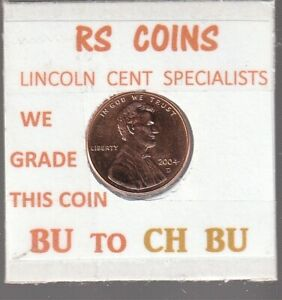 2004D   2005D  LINCOLN CENTS  UNCIRCULATED  NICE HAND PICKED CENTS FROM RS COINS