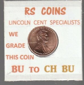 2007D   2008D  LINCOLN CENTS  UNCIRCULATED  NICE HAND PICKED CENTS FROM RS COINS