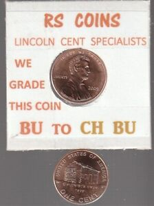 2009 LOG CABIN   LINCOLN CENT  UNCIRCULATED  NICE HAND PICKED CENT FROM RS COINS