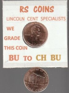 2009P  1 2  LINCOLN CENTS   UNCIRCULATED   NICE HAND PICKED CENTS FROM RS COINS
