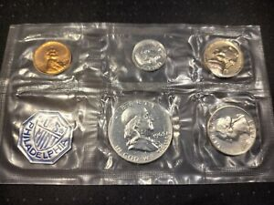 Click now to see the BUY IT NOW Price! 1963 US MINT PROOF SET 5 COINS WITH SILVER COINS IN OGP NO ENVELOPE