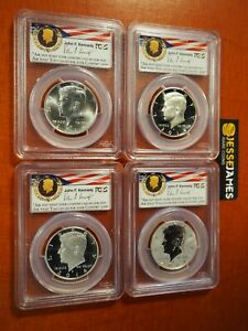 Click now to see the BUY IT NOW Price! 2014 W REVERSE PROOF SILVER KENNEDY 4 COIN PCGS PR70 MS70 PL 50TH ANN SET PHILLY