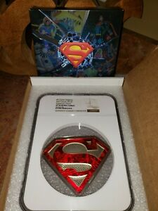 Click now to see the BUY IT NOW Price! 2017 CANADA 10 OZ SILVER COIN $100 DC COMICS SUPERMAN'S SHIELD NGC PF70UC