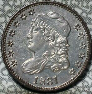 1831 CAPPED BUST HALF DIME IDGG806