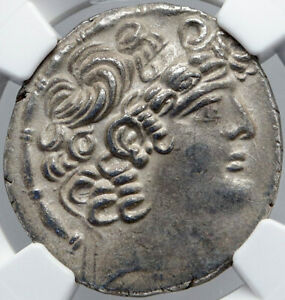Click now to see the BUY IT NOW Price! ANTIOCH ROMAN UNDER EMPEROR LABIENUS VINTAGE ANCIENT OLD SILVER COIN NGC I87726