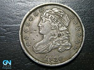 1830 CAPPED BUST DIME      MAKE US AN OFFER   B5512