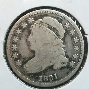 1831  VG  CAPPED BUST DIME  NICE COIN