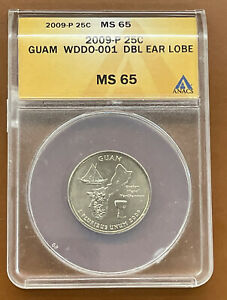 Click now to see the BUY IT NOW Price! 2009 P GUAM TERRITORIES WASHINGTON QUARTER ANACS MS65 DDO 001 DOUBLE DIE LOBE