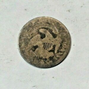 BUST HALF DIME>>>>>NICE FILLER WITH DETAIL    .99 SHIPPING