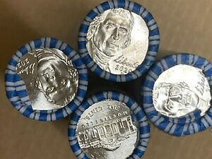 30 $2 ROLLS 2020 P JEFFERSON NICKEL UNCIRCULATED AND UNTOUCHED