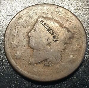 LARGE CENT NO DATE NICE LIBERTY AS SHOWN  8